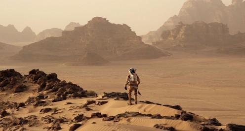 Matt Damon as Mark Watney, The Martian (2015)